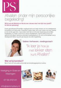 Sabine Verhoeven, voedingscoach